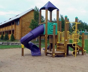 Kids Playground at Drummond Island Resort