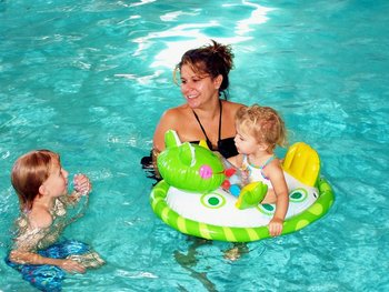 Water fun at Water's Edge Inn & Conference Center.