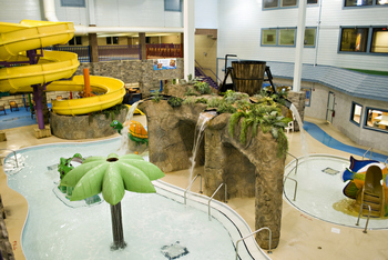 Activity pool at Castle Rock Resort and Waterpark.