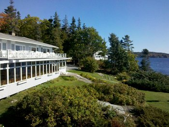 Exterior view at Linekin Bay Resort.