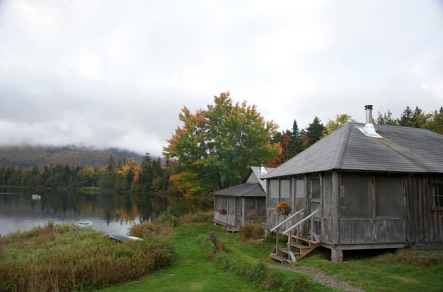 Cabin Exterior at West Branch Pond Camps