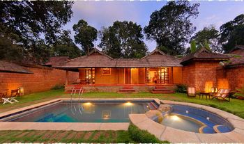 Villa exterior at Orange County Resort, Coorg.