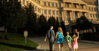 Family at Nemacolin Woodlands Resort