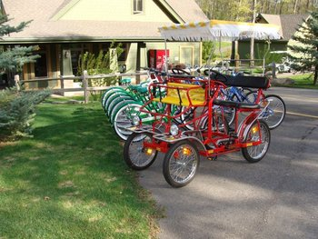 Bike Rentals at Kavanaugh's Sylvan Lake Resort