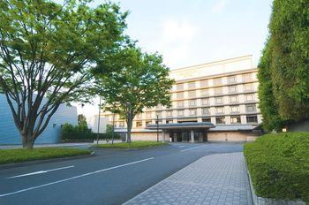 Exterior view of Kyoto Brighton Hotel.