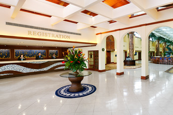 Lobby at TradeWinds Island Grand.