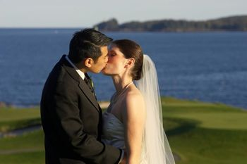 Wedding Couple at The Samoset Resort