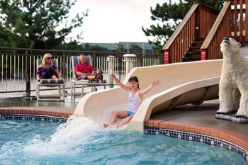 Water Slide at Cliffside Resort