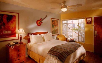 Guest room at The Hotel California.