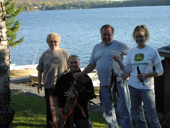 Family Fishing at Powder Horn Lodge