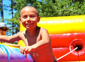 Water activities at The Wilderness Way Adventure Resort.