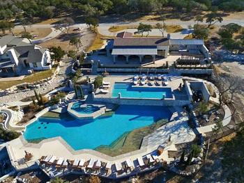 Aerial View of Stablewood Springs Resort