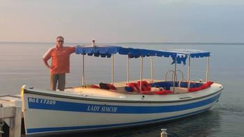 Boat rides at The Briars.