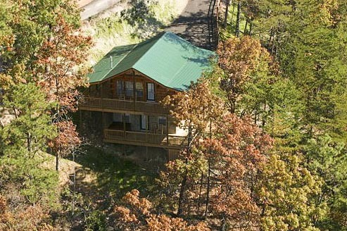 Exterior Vacation Rental at Volunteer Cabin Rentals