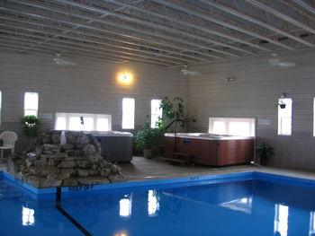 Indoor pool at Alhonna Resort.