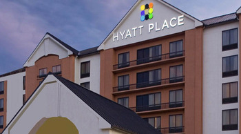Exterior view of Hyatt Place Austin.