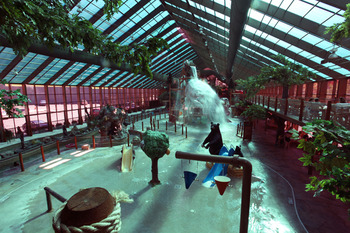 Water park at Westgate Smoky Mountain Resort.