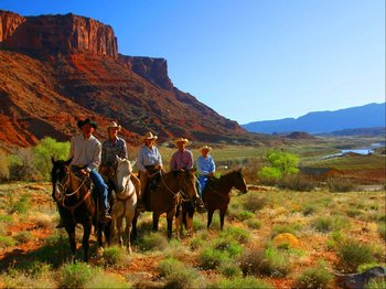 Horseback Riding at Big Horn Lodge