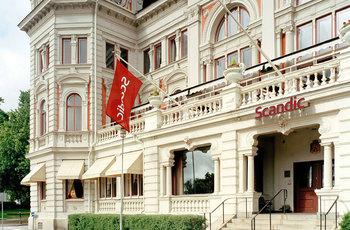 Exterior view of Scandic Hotel Billingen.