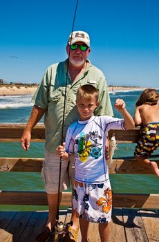 Fishing at Hatteras Realty