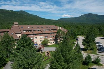 Exterior view of Waterville Valley Resort.
