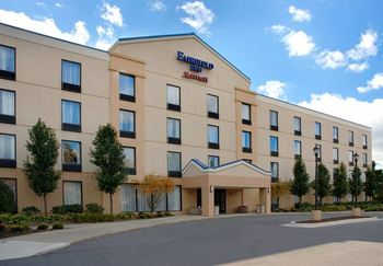 Exterior view of Fairfield Inn Ann Arbor.