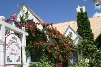 Exterior view of Garden Cottage Bed & Breakfast.