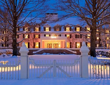 Winter at The Woodstock Inn & Resort.