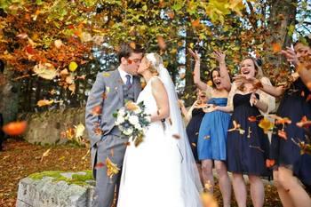Wedding at Waterbury Inn Condominium Resort.