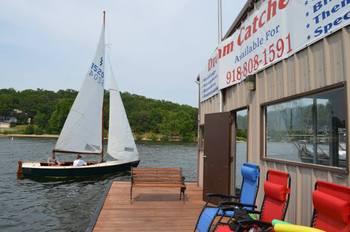 Lake rentals at Dream Catcher Point Resort.