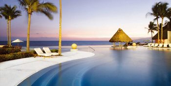 Outdoor pool at Grand Velas All Suites and Spa Resort - Nuevo Vallarta, Riviera Nayarit.