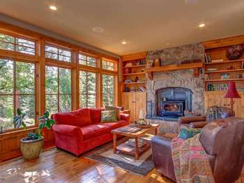 Vacation rental interior at Pullen Realty Group.