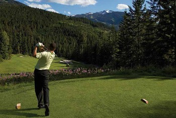 Golf at The Fairmont Chateau Whistler.