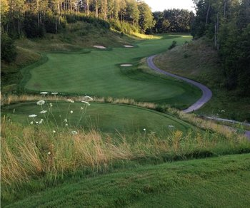 Golf course at Otsego Club and Resort.