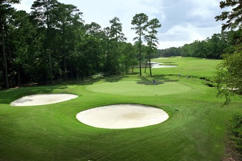Golf at The Woodlands Resort & Conference Center.