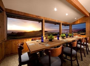 Meeting space at Sea Ranch Lodge.