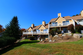 Exterior view at Mountainside at Stowe.