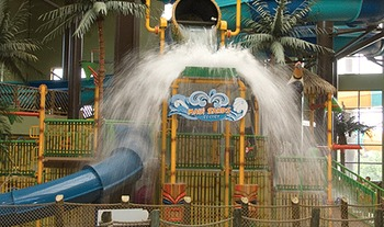 Big Bucket Splash at Maui Sands Hotel