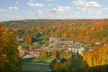Aerial View of Horseshoe Resort