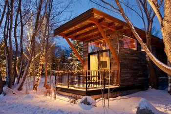 Luxury Cabin at Fireside Resort