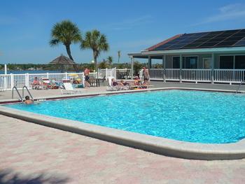 Outdoor pool at Bermuda Bay Resort.