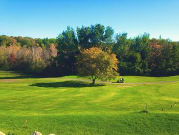 Golf course at The Leland Lodge and Conference Center.