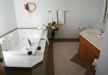 Bathroom in Unit at The Lodge at Leathem Smith