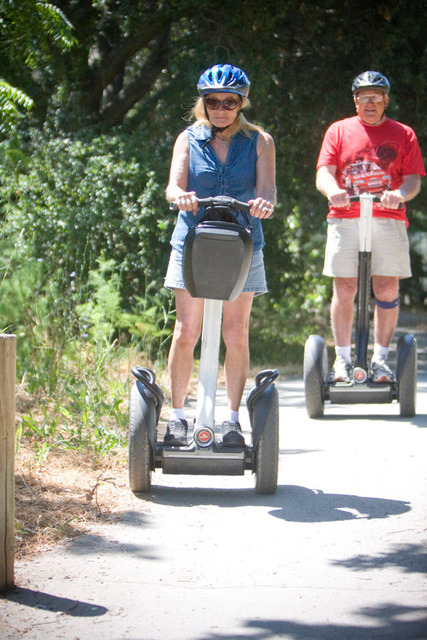 Segway Tours On-Site at the River Pointe Napa Valley Resort