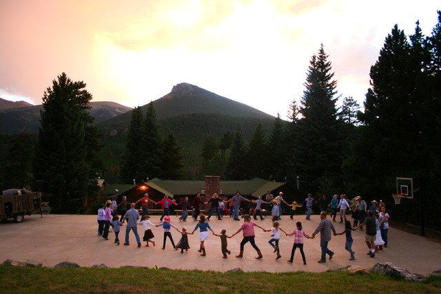 Family camp at Wind River Ranch