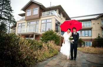 Wedding at Long Beach Lodge Resort.