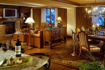 Rental interior at Frias Properties of Aspen.