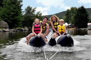 Family at  Rocking Horse Ranch Resort.