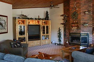 Lake House Interior at Moosebirds Bed and Breakfast