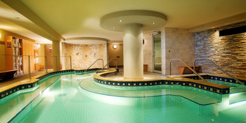 Indoor Swimming Pool at Banff Ptarmigan Inn
